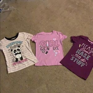 Other - Three girls graphic T's